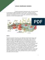 Structura membranei celulare