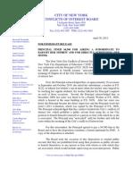 COIB Press Release & Disposition (DOE1)
