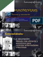 INMUNOPROFILAXIS Y VACUNACIÓN 2012