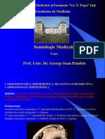 Semiologie pericardite