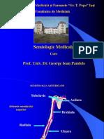 Semiologie  Artere, Vene, Limfatice