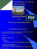 Semiologie Renal - Curs 6 - IRC, Cancer, Litiaza Ren