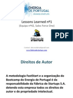Energia de Portugal - Lessons Bootcamp nº1