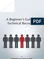 Introduction to Technical Recruiting-US IT Staffing