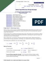 Pier Design Example - US Units - Design Step 8