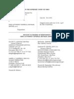 Ohio AG Motion to Dismiss