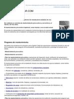 Requerimientos en El Mantenimiento de Instalaciones Aisladas de Red CLEANERGYSOLARCOM1