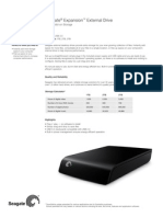 Expansion External Usb3 Datasheet en Us
