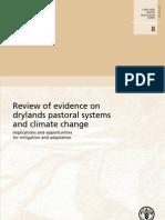 FAO_2010_Pastizales Zonas Aridas Cambio Climatico