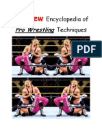 (2012) the New Encyclopedia of Pro Wrestling Techniques
