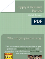 Supply & Demand Project