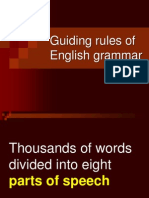 Guiding Rules of Grammar 1