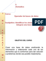 Base de Datos Elda