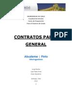 Apunte Contratos Parte General. AbuslemePinto (ACTUALIZADO AL 30 de ABRIL de 2012)