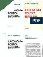 7 - MANTEGA, Guido. A Economia Política Brasileira