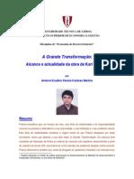 António Cardoso Martins_A Grande Transformação de K. Polanyi
