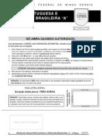 Lngua Portuguesa e Literatura Brasileira - 2012 a (Manh) - 2012 Ufmg