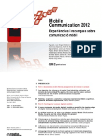Comunicación móvil 2012