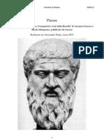 Platone - Riassunti
