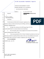 Mouli Cohen Forfeiture Order