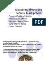 Scoala pt.diversitate