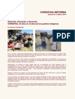 Chirapaq Informa N°02, Marzo 2010