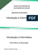 Apresentacao - Introducao Informatica