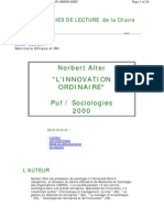 Alter_Innovation Ordinaire_Fiche de Lecture
