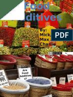 Science Food Additive Presentation