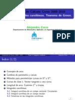 Integrales Curvilineas, cálculo gral