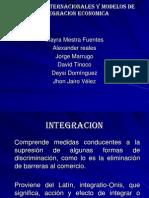 Acuerdos Internacionales y Modelos de Integracion Economica