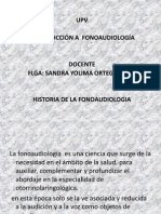 historia fonoaudiologia