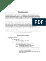 Estate Planning Handouts- De Pere at Dawn