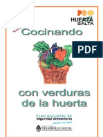 Cocinando Con Las Verduras de La Huerta