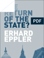The Return of the State by Erhard Eppler