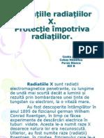 Aplicațiile radiațiilor X