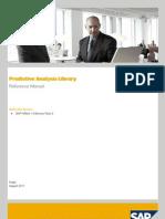 Predictive Analysis Library Manual