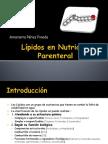 Lipidos en Nutricion Parenteral