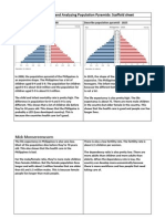 Humanities Population Pyramid - Mick