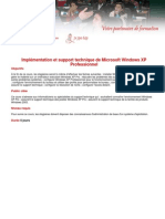 Implementation Et Support Technique de Microsoft Windows Xp Professionnel 31