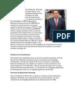 biografia y gobierno de Hugo Rafael Chávez Frías