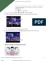 DSC-HX100_HX100V _ 3D Sweep Panorama _ Cyber-Shot User Guide