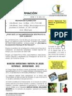 Boletin Informativo No. 001