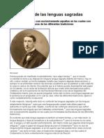 René Guenon - A Propósito de las Lenguas Sagradas