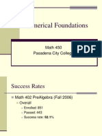 Numerical Foundations