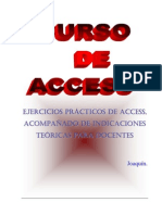 ACCESS- Guias Para Crear Una Base de Datos
