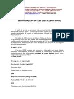 Escrituração Contábil Digital  SPED