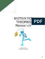 Motivation Theories Description and Criticism