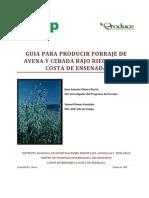 Guia Para Producir Forraje de Avena y Cebada Bajo Riego