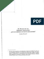 Articulo ABG - El Estado Soy yo - Arbitraje y Regulación - Libro La regulacion economica de los Servicios Publicos 2010 - ARA Editores